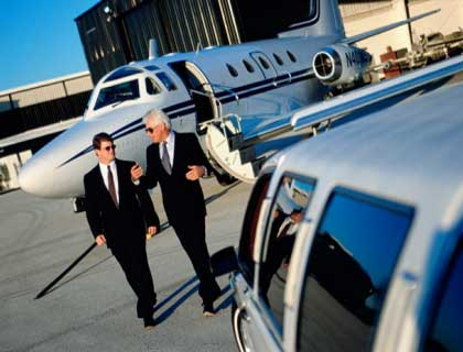 Corporate transportation in Los Angeles