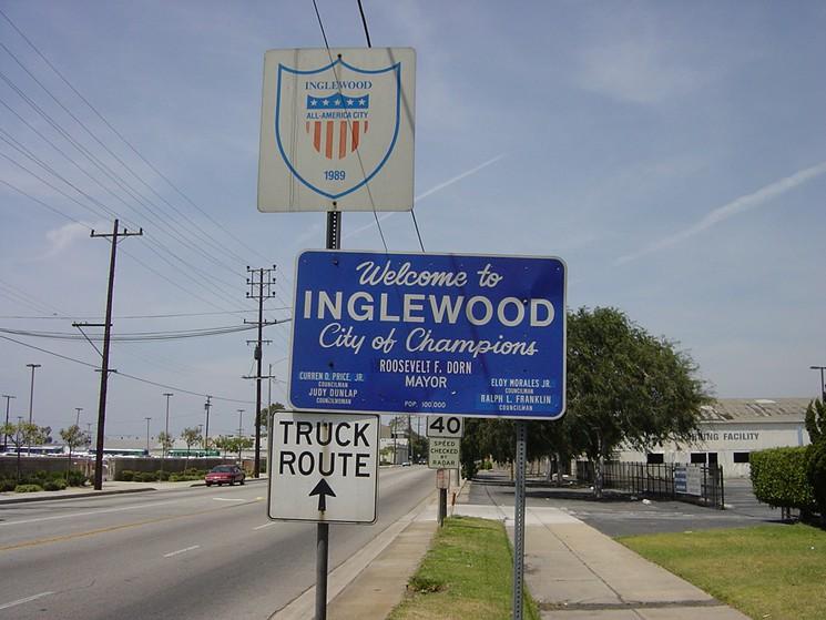 Inglewood limo service