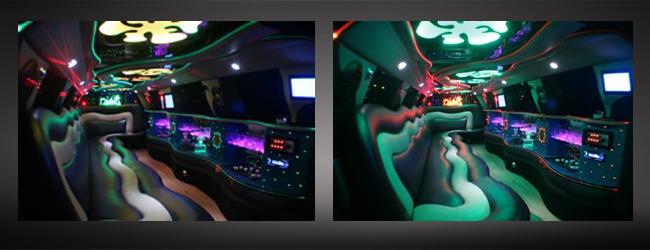 Los Angeles limo service fleet