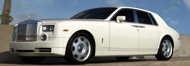 Rolls Royce Phantom Rental in Los Angeles