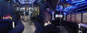 Mercedes Freightliner party bus los angeles ca